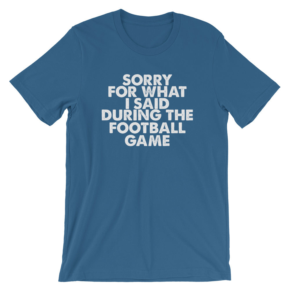 Football Sorry Short-Sleeve Unisex T-Shirt