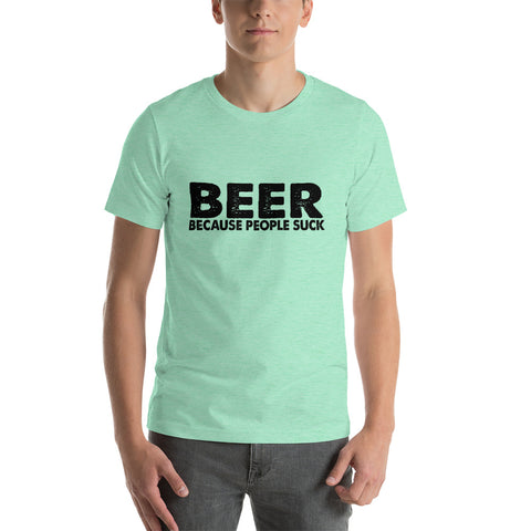 Image of Beer Short-Sleeve Unisex T-Shirt