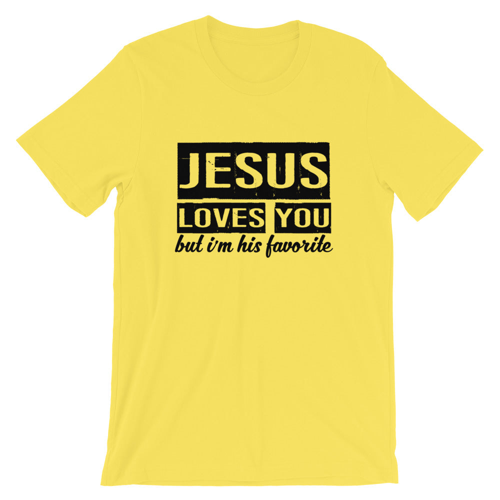 His Favorite Short-Sleeve Unisex T-Shirt