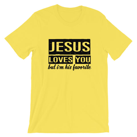 Image of His Favorite Short-Sleeve Unisex T-Shirt