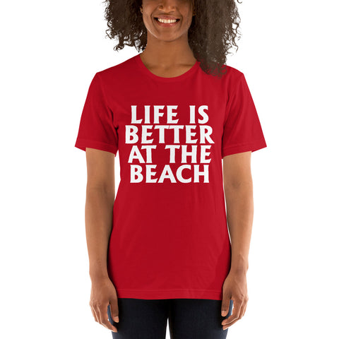 Image of Better At The Beach Short-Sleeve Women T-Shirt
