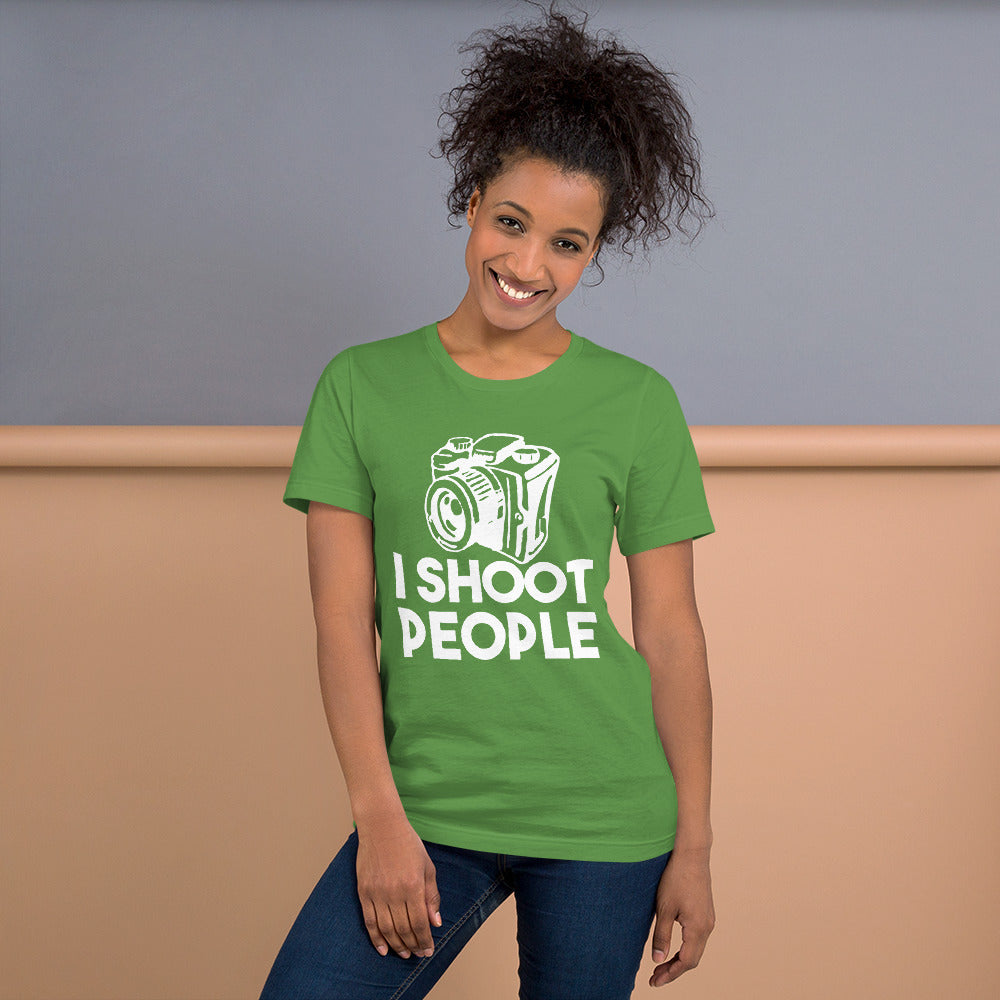 I Shoot People Short-Sleeve Women T-Shirt