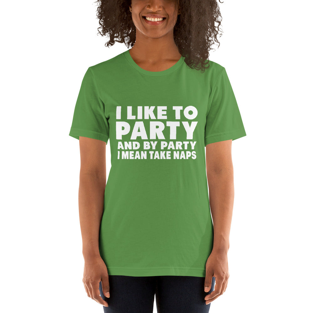 Like To Party Short-Sleeve Women T-Shirt