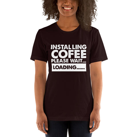 Image of Installing Coffee Short-Sleeve Women T-Shirt