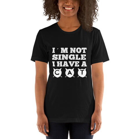 Image of I'm Not Single Short-Sleeve Women T-Shirt