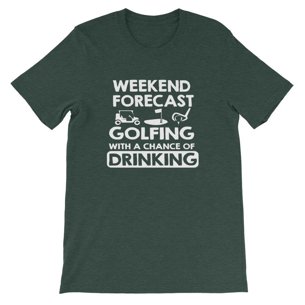 Weekend Forecast Short-Sleeve Unisex T-Shirt