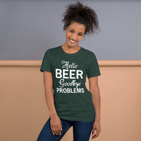 Image of Goodbye Problems Short-Sleeve Women T-Shirt