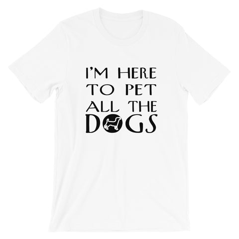 Image of Pet All The Dogs Short-Sleeve Women T-Shirt