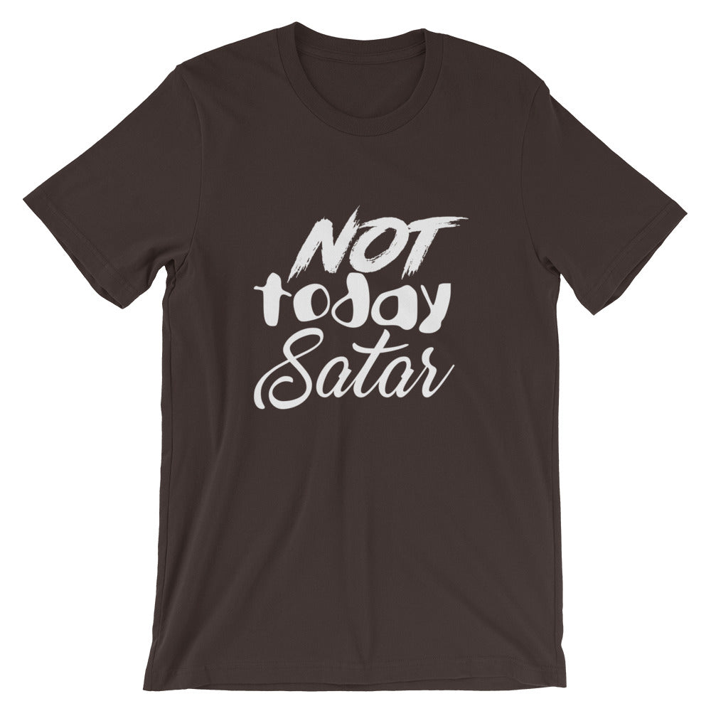 Not Today Satan Short-Sleeve Unisex T-Shirt