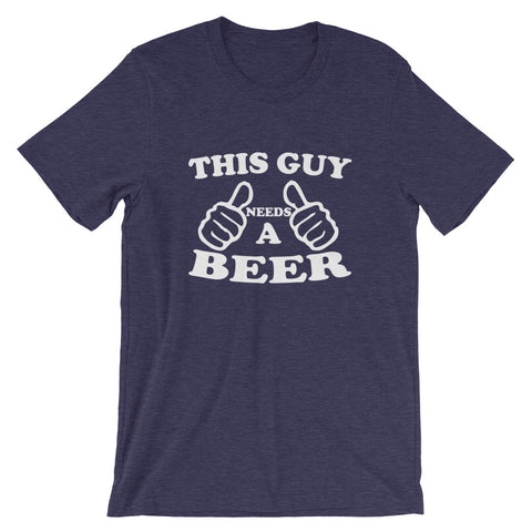 Image of Needs A Beer Short-Sleeve Unisex T-Shirt