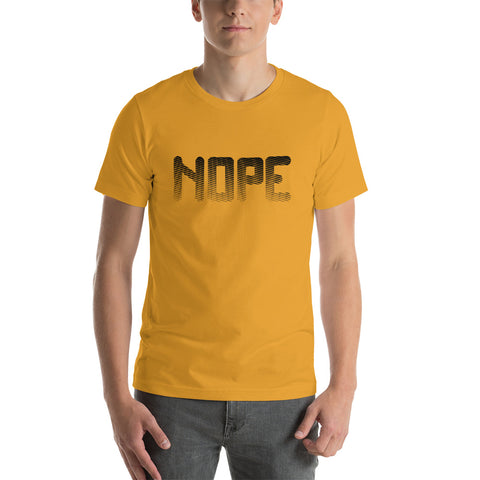 Image of Nope Short-Sleeve Unisex T-Shirt