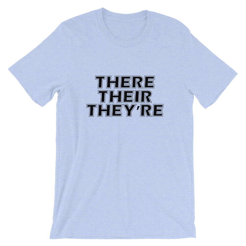There Their They're Short-Sleeve Women T-Shirt
