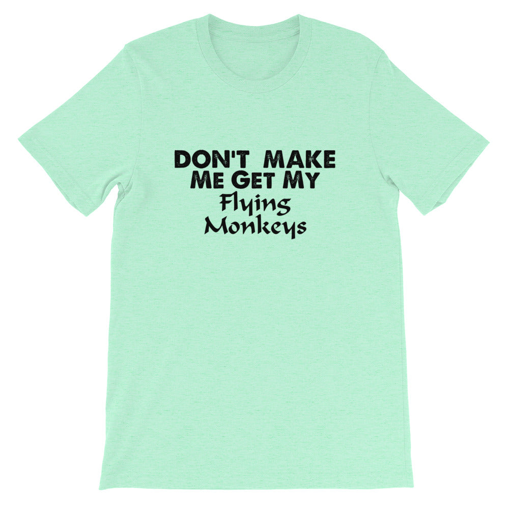 Flying Monkeys Short-Sleeve Unisex T-Shirt
