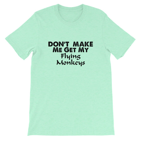 Image of Flying Monkeys Short-Sleeve Unisex T-Shirt