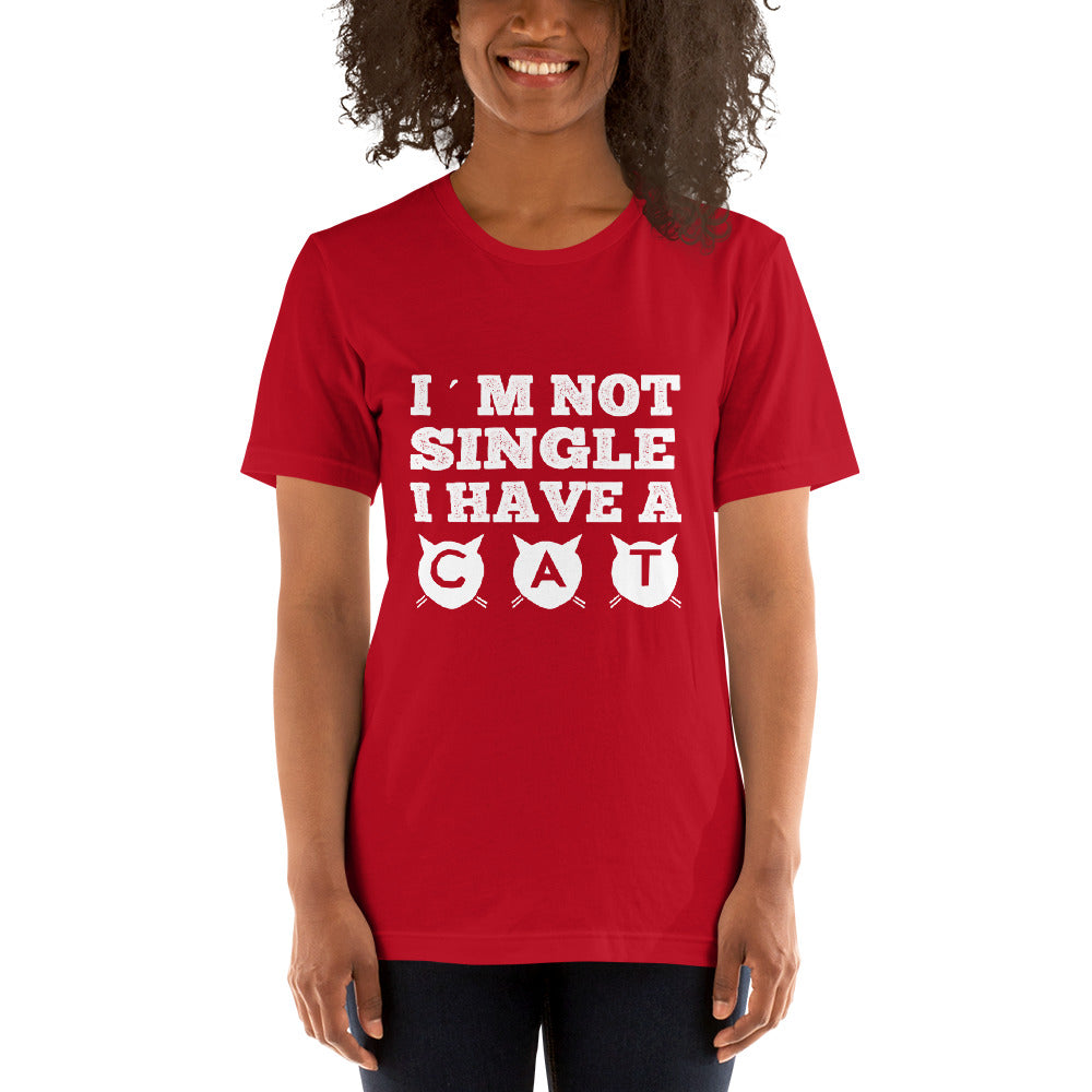 I'm Not Single Short-Sleeve Women T-Shirt
