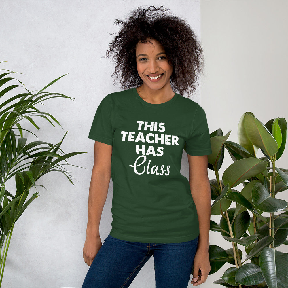 Teacher Has Class Short-Sleeve Women T-Shirt