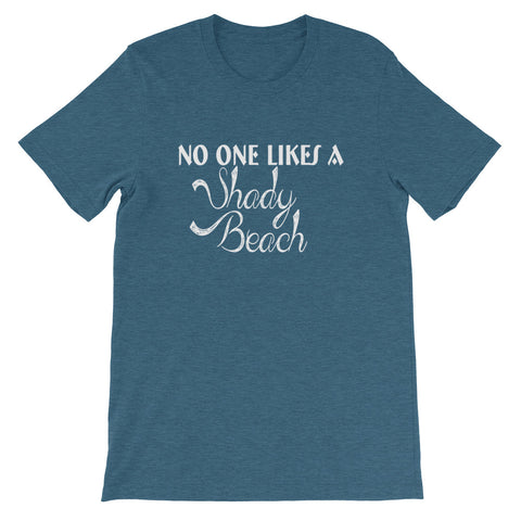 Image of Shady Beach Short-Sleeve Unisex T-Shirt