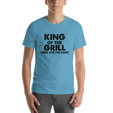 Image of King Of The Grill King Short-Sleeve Unisex T-Shirt