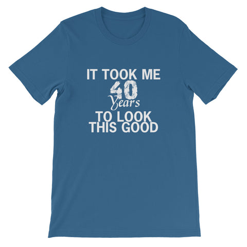 Image of 40 Years Short-Sleeve Unisex T-Shirt