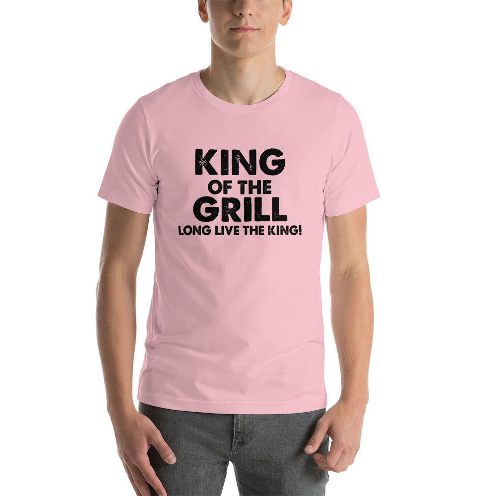King Of The Grill King Short-Sleeve Unisex T-Shirt