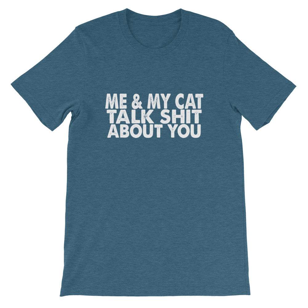 Me And My Cat Short-Sleeve Unisex T-Shirt