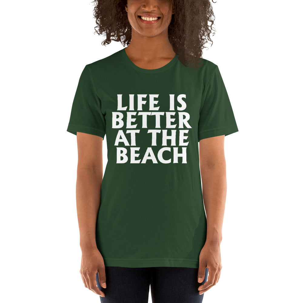 Better At The Beach Short-Sleeve Women T-Shirt