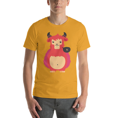 Image of Hello Short-Sleeve Unisex T-Shirt