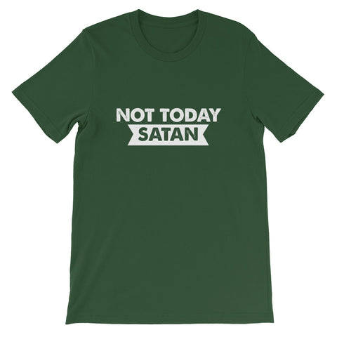 Image of Not Today Satan Short-Sleeve Unisex T-Shirt