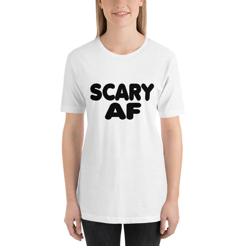 Image of Scary AF Short-Sleeve Women T-Shirt