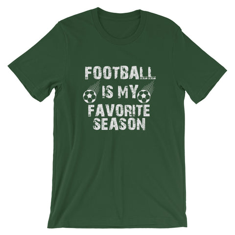 Image of Football Season Short-Sleeve Unisex T-Shirt