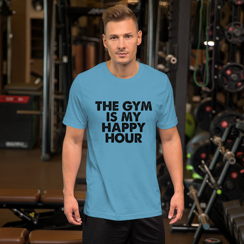 Image of Gym Happy Hour Short-Sleeve Unisex T-Shirt
