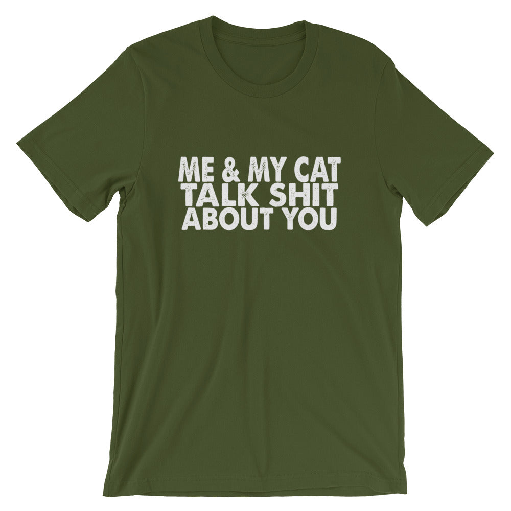 Me And My Cat Short-Sleeve Women T-Shirt
