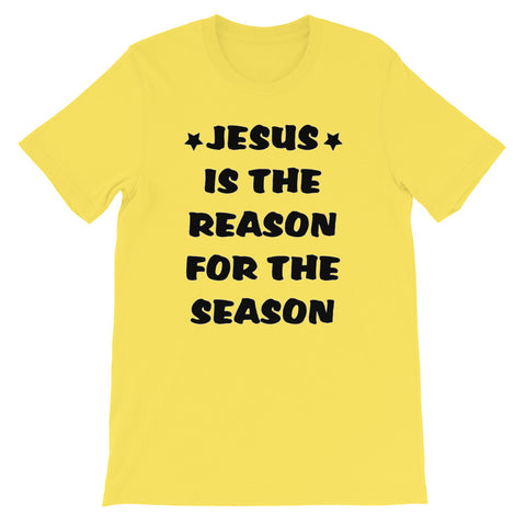 Image of Jesus Is The Reason Short-Sleeve Unisex T-Shirt
