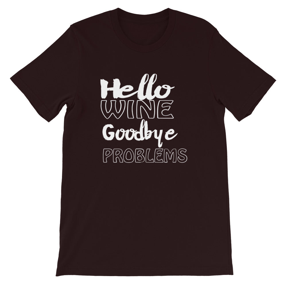 Goodbye Problems Short-Sleeve Unisex T-Shirt