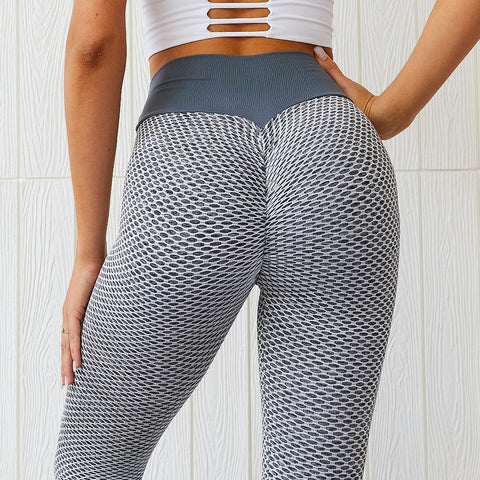 Fitness High Waist Push Up Seamless Leggings