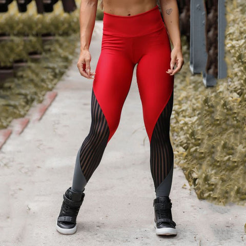 Image of High Waist Push Up Exercise Fitness Leggings