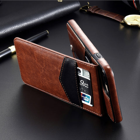 Image of Leather Case with Card Holder