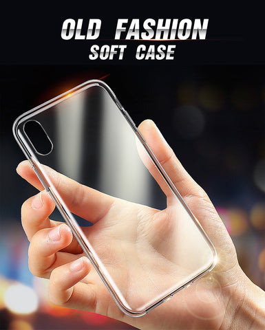 Clear Soft Silicone iPhone Case