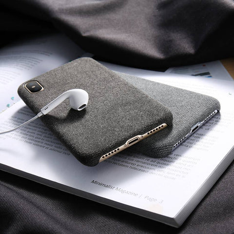 Fabric Cloth iPhone Case