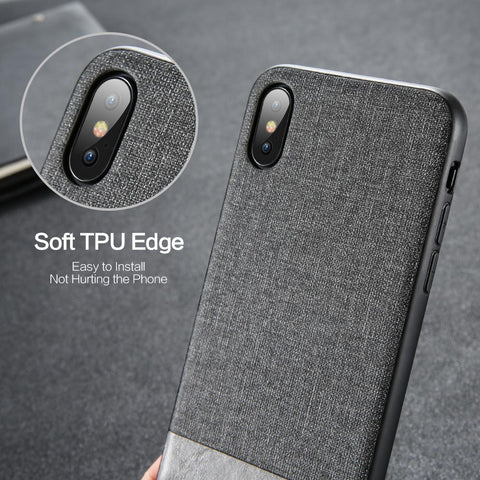 Vintage Splice Cloth Huawei Phone Case