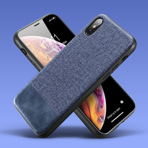 Image of Vintage Splice Cloth Huawei Phone Case