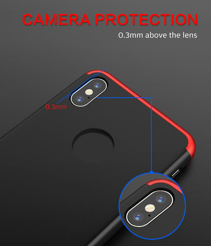 Image of Triple Protection Hard PC Huawei Phone Case