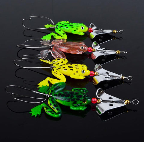 SPECIAL OFFER - 4pk Frog Fishing Lures