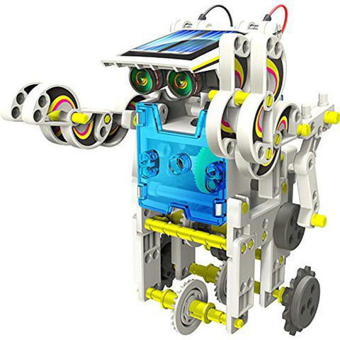 Image of Advanced 14 in 1 DIY Solar Robot Kit