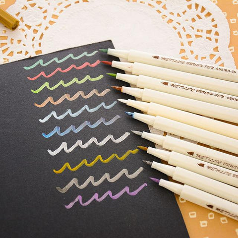 Image of Metallic Marker Set
