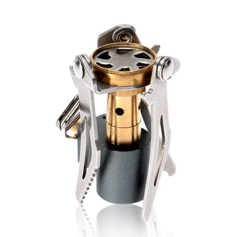 Image of Folding Mini Camping Gas Stove Survival Cooker