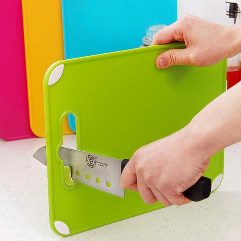 Image of Dual Chopping Board And Knife Sharpener