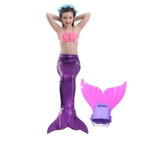 Image of Mermaid Swimming Outfit