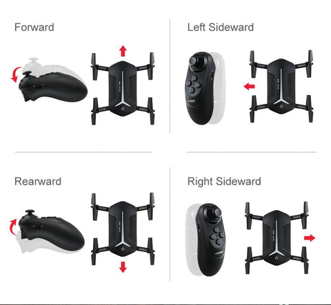 Foldable Baby Elfie Drone