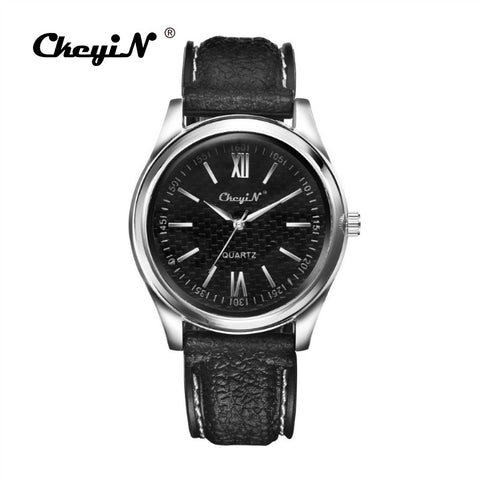 Image of Black Silver Windproof Flame-less Cigarette Lighter Metal Watch